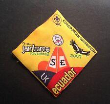 21ST World Scout Jamboree ECUADOR CONTINGENT BADGE 2007