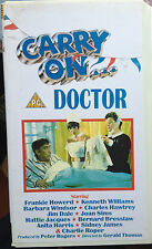Carry on Doctor (VHS) Rare 1967 series entry stars Frankie Howerd, Jim Dale