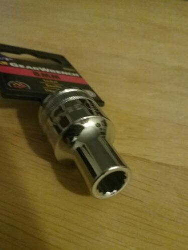 "GearWrench  8mm  12PT  SOCKET 1//2/"" DRIVE"