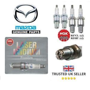 Adroit Genuine Mazda Rx8 Spark Plugs Leading & Arrière Set Laser Iridium Re7c-l Re9b-t-afficher Le Titre D'origine