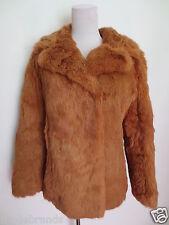 Kaninjacke Nachtigall Pelze Pelzjacke Kanin Jacke 34 XS S orange wie NEU /T2