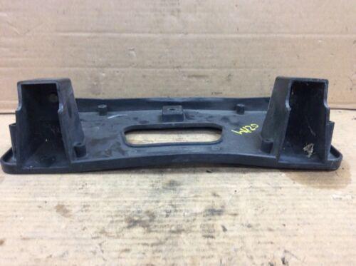 01 02 Accord 4DR Sedan Front Bumper License Plate Base Frame Holder Used OEM