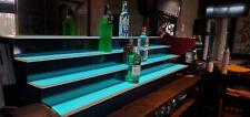 70 Lighted Bar Shelf 4 Steps Led Liquor Bottle Glorifier Back Bar Shelving