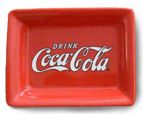 Drink Coca Cola Red Trinket Dish 5.25 Inches Officially Licensed