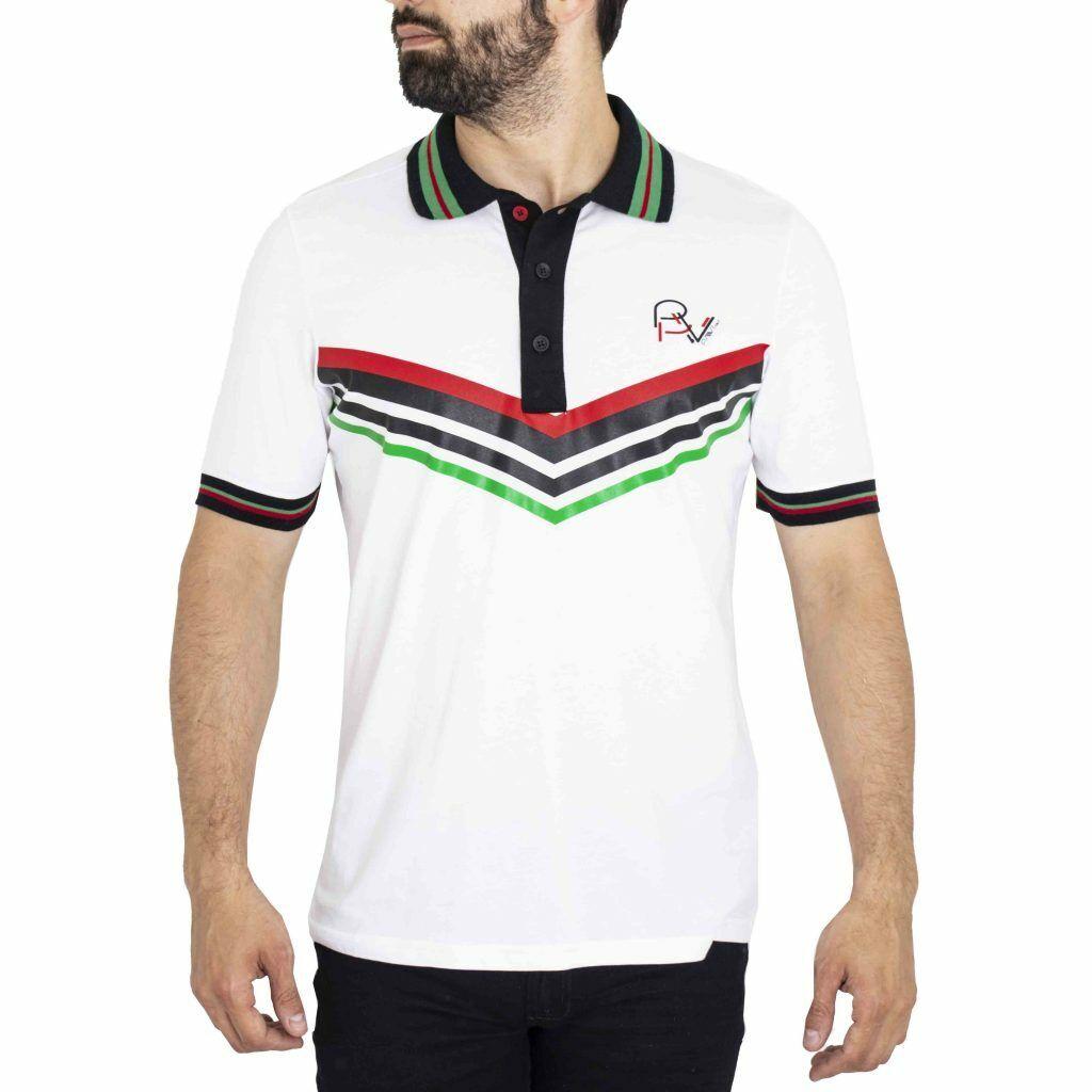Pavi  Polo shirt white 05-0247 for men