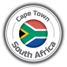 South Africa Country Flag Car Bumper Decal Sticker