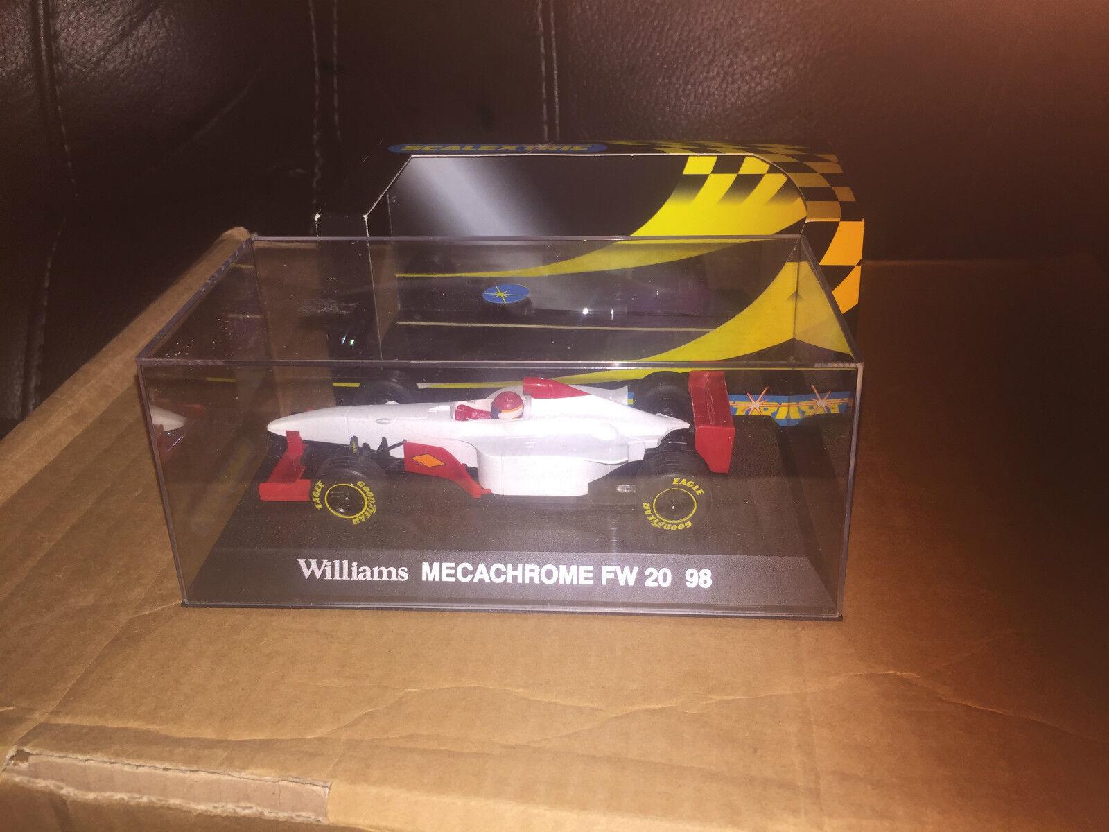 SCALEXTRIC WILLIAMS MECACHROME FW 20 98 PredOTYPE RARE