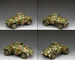 KING-amp-COUNTRY-WW2-GERMAN-ARMY-WS210-SD-KFZ-222-ARMORED-CAR-SET-NORMANDY-MIB