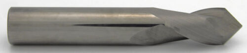"""3//16/"""" Diameter Uncoated 90° Point Melin USA 2Flute Drill End Mill Carbide #16704"""