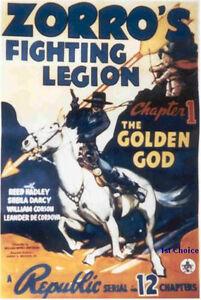Zorros Fighting Legion Cliffhanger Serial Dvd Reed Hadley Sheila