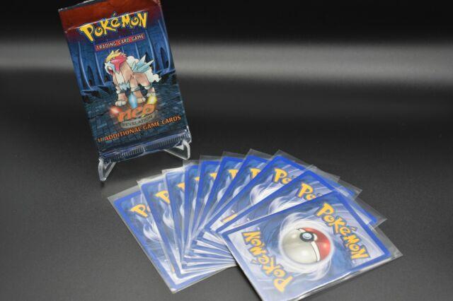 Pokemon Karten Booster Neo Revelation mit 10 Karten Boosterfrisch! geöffnet! EN!