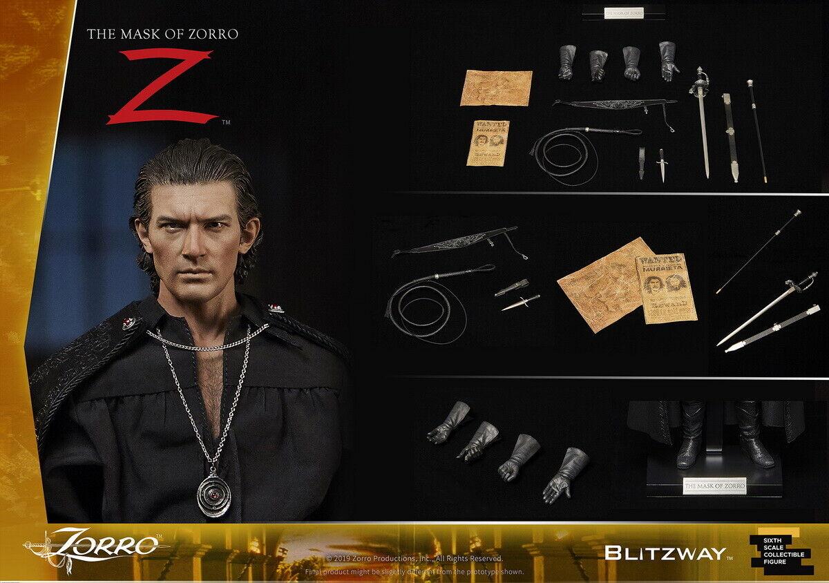 Blitzway 1 6 Zorro figura la másCochea de zorro 1998 cabezas de W 2 12  BW-Ums 11101