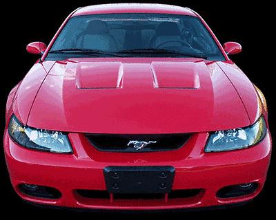 2003-2004 Ford Mustang Cobra TruFiber Functional Body Kit- Hood
