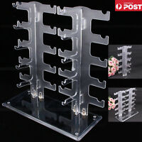 Acrylic10 Pair Sunglasses Eyeglass Glasses Frame Rack Display Stand Organizer Au