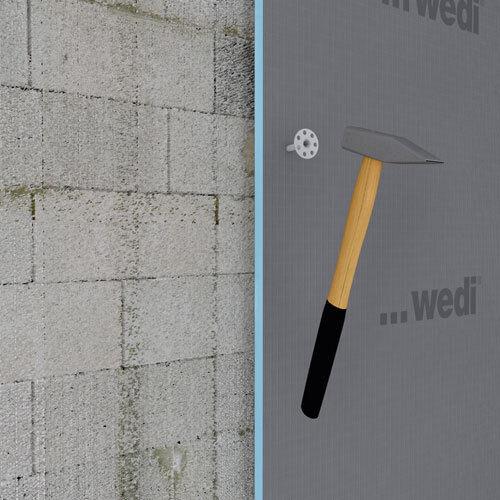 110mm 100 Stück verzinkt WEDI Tools Metalldübel Original