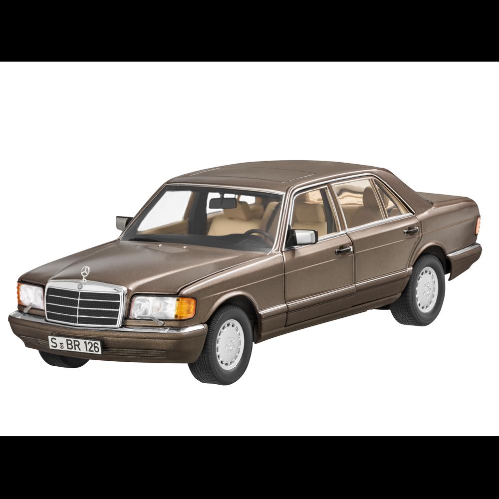 Mercedes - benz   126 560 sel langversion impala braun 1,18 neu ovp norev