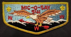 OLD-MIC-O-SAY-OA-LODGE-541-BSA-WESTERN-COLORADO-COUNCIL-PATCH-EAGLE-SERVICE-FLAP