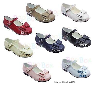 Sevva-Girls-Spanish-Style-RED-Patent-Mary-Jane-Shoes- UK Size 4 -5 EU20 EU22