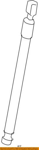 PORSCHE OEM 11-15 Cayenne Hood-Lift Support Strut Shock Prop Arm 95851135900
