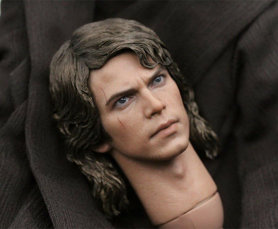 Art Toys 1 6 Scale Anakin Skywalker Head Sculpt F 12  Action Figure Body New Toy