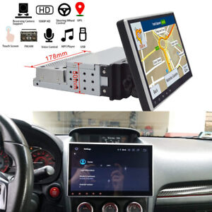 10-1-039-039-Single-Din-Android-9-1-GPS-Head-Unit-Touch-Screen-Wifi-MP5-Bluetooth-FM