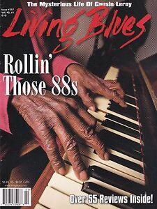 LIVING BLUES MAGAZINE NUMBER 217 2010 BLUES PIANO JIMMY MCCRACKLIN NAT DOVE