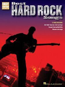 New Hard Rock Songs : best hard rock songs sheet music easy guitar book new 000702233 ~ Hamham.info Haus und Dekorationen