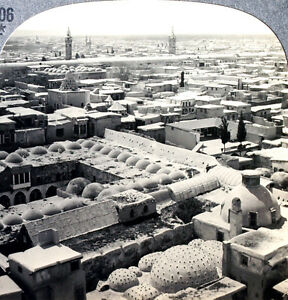 Details about Keystone Stereoview of the Ancient City of Damascus, SYRIA  from 1930's T600 Set