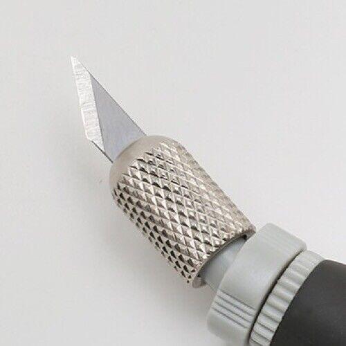 Cortador De Nt Art Design Faca SW-600GP De Alumínio Fundido Suporte Cabeça 360 Do Japão