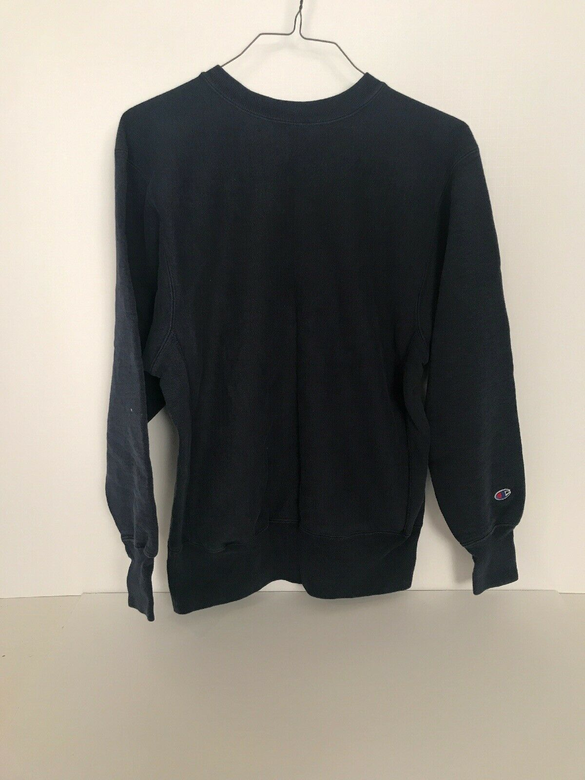 CHAMPION - Vtg 90s Navy Blau Crewneck Streetwear Sweatshirt measurements