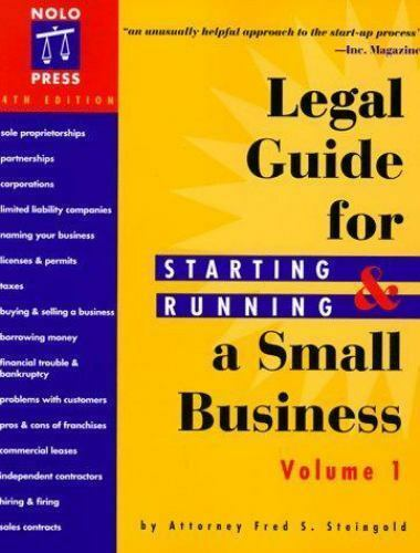 The Legal Guide for Starting & Running a Small Business [Legal Guide for Startin