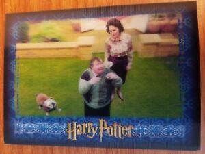 Artbox Harry Potter 3D  Series 1 #10 The quaffle is released NrMint-Mint Niet-sportkaarten