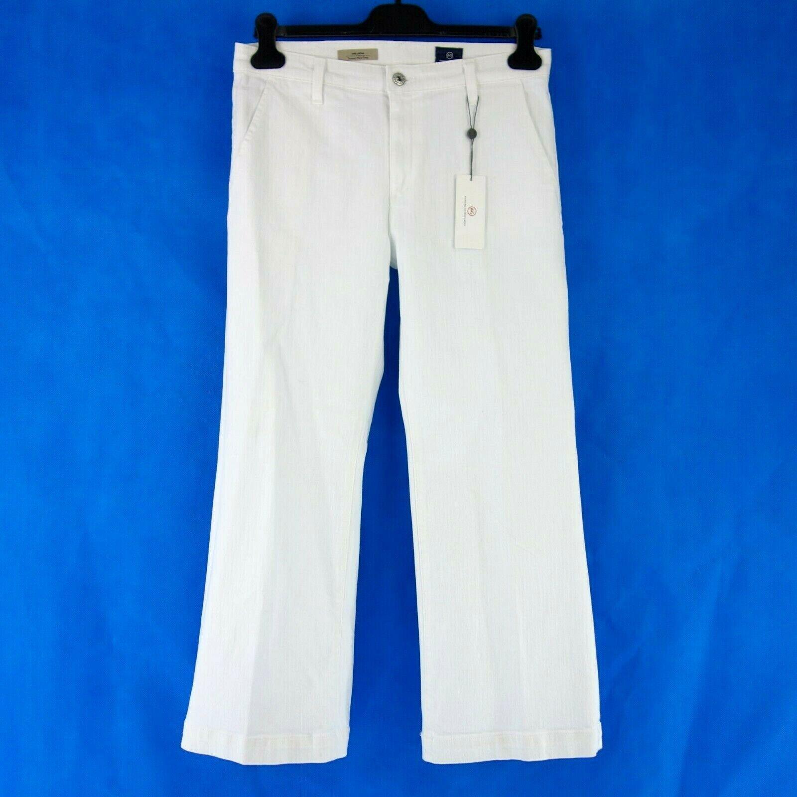 Adriano orschmied Ag Femme Pantalon Jeans The Layla W25 W28 W29 Blanc Np