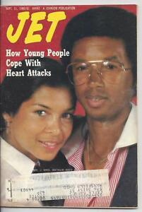 Jet Magazine September 1980 Arthur Ashe Cover
