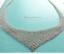 Tiffany-amp-Co-Peretti-Mesh-Bib-Scarf-Necklace-28-034-Sterling-Silver-EUC-1001 thumbnail 1