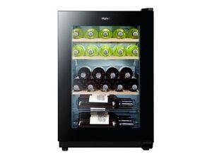 Kleiner Weinkühlschrank : Haier ws ga weinkühlschrank eek a schwarz mit uv filter