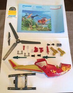 1 Playmobil Helicopter Playmobil Helicopter From Set 9430 Playmobil