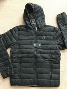 Image is loading NEW-Hollister-By-Abercrombie-Men-Lightweight-Down-Puffer- b1b681985