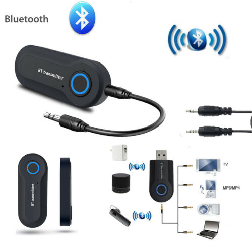 Bluetooth Transmitter  USB 3.5mm Audio AUX Audio Transmitter For TV Stereo
