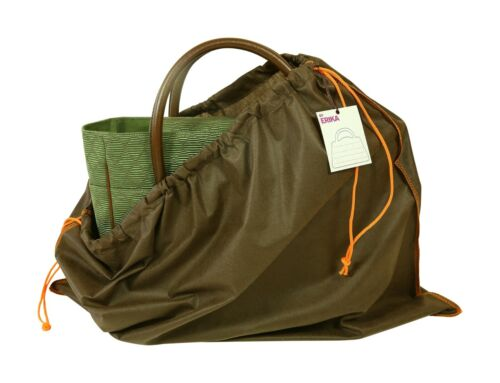 """Dust Cover Bags for Handbags Set of 4 Non-woven Drawstring Bags Brown 24/""""x20/"""""""