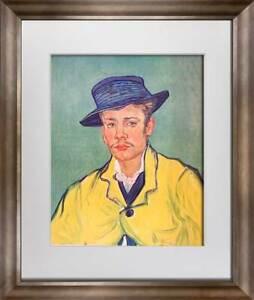 """Vincent Van GOGH Lithograph Ltd. Ed. """"Portrait..."""" 1937 w/Archival Frame"""