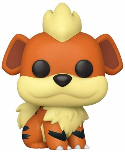 Funko Pop POKEMON-Growlithe Figura in vinile 597 Games ANIMAZIONE
