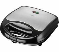 LOGIK L02SMS17 Sandwich Toaster -  Black & Silver - Currys