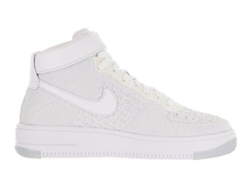 Blancas Af1 100 Flyknit Zapatillas Nike 818018 Mujer wCzzBqT