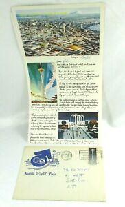 Vintage-Letterhead-1962-Century-21-Exposition-Seattle-World-039-s-Fair-Space-Needle