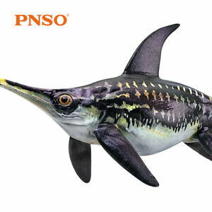PNSO Ophthalmosaurus Ichthyosaur Figure Dinosaur Model Animal Collector Toy Gift