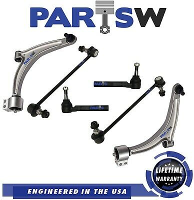 Sway Bar Links. New 8 Piece Front Suspension Kit for Chevrolet Malibu Saturn Aura; Front Lower Control Arm /& Ball Joints Pontiac G6 Tie Rods