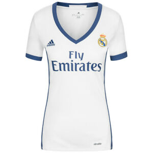 Maillot Adidas Real Madrid Femme Taille L Neuf et Authentique