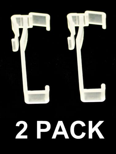 3 Inch Valance Clips For Horizontal Faux wood /& Wood Blinds Parts Pick a Pack