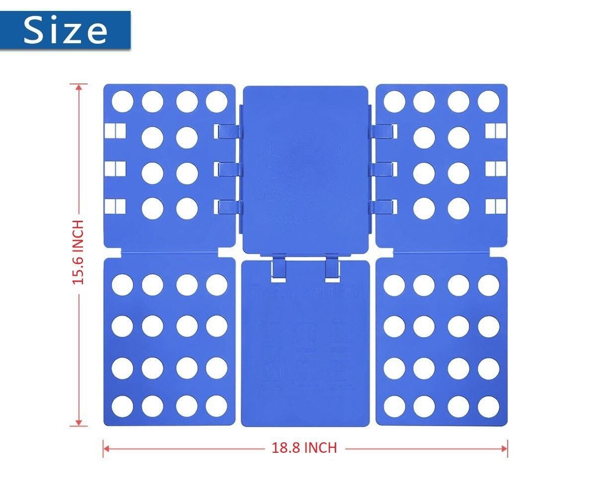 Image 51 - Shirt Folder Magic Fold Clothes Board Laundry Folding Organiser Fast Flip Fold